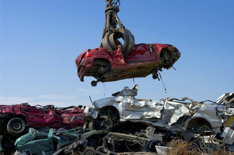 , PRICE OF METAL ON JUNK CARS RISES